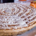 Orange's cinnamon roll pancakes