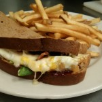 Peppercorn Raspberry Egg Sandwich