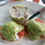 A big Thank you goes out to Marc Mellits for this AWESOME photo of our Caprese Benedict. Take a listen to some of the creative things Marc does, visit Marc on line at his website - MarcMellits.com